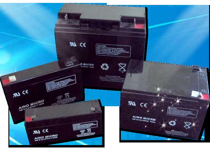 Аккумуляторы AGM VRLA