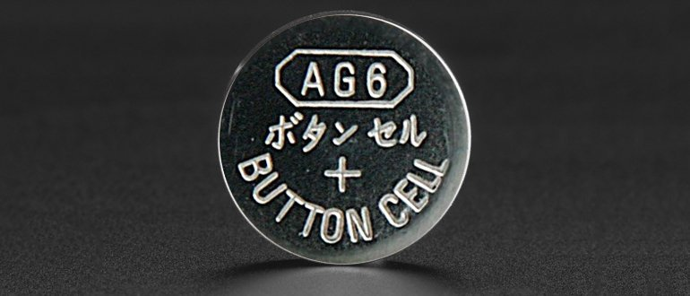 Технический обзор батареек типа AG6