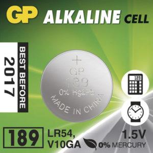 Батарейки с типоразмером GP189 щелочного типа и их характеристики