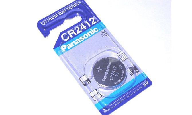 Важная информация о батарейке кнопочного форм-фактора - модели CR2412