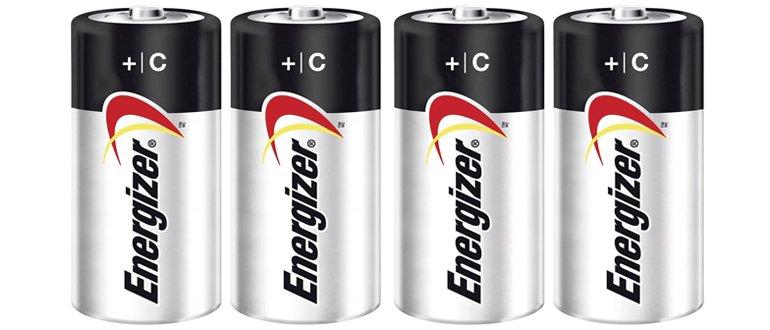 Модельный ряд батареек по C-типу - источников питания LR14 согласно международной классификации