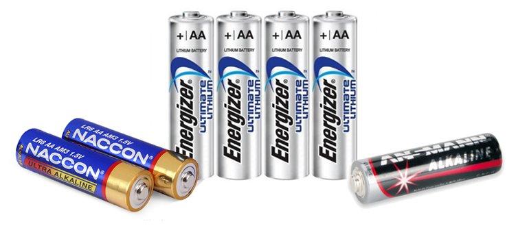 Основные параметры батарейки AA LR6 и ее отличия от других