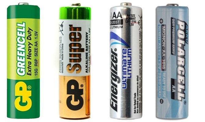 Почти все, что нужно знать о батарейке литиевой пальчиковой АА с типоразмером FR6