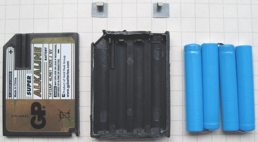 Несколько слов о щелочных батарейках: модель 4LR61