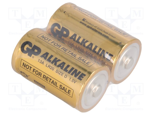 Алкалиновая батарейка LR20 по типу