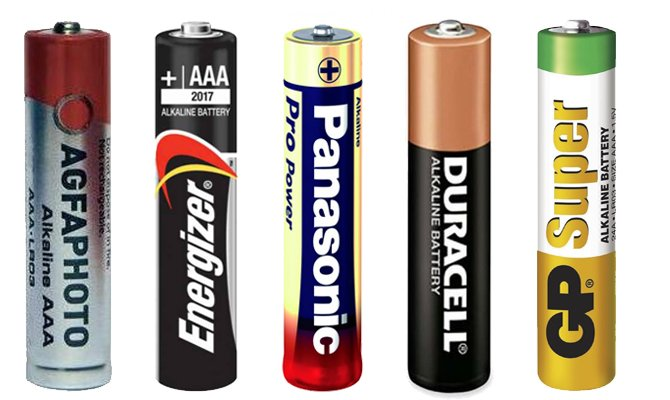 """Батарейка  модели LR03 типа """"мизинчиковых"""": основные параметры и значения"""