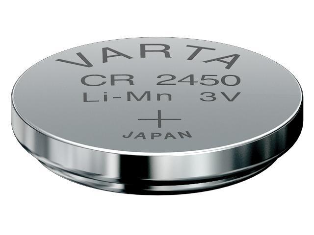 Литиевая (CR) батарейка - модель CR2450 - и ее особенности