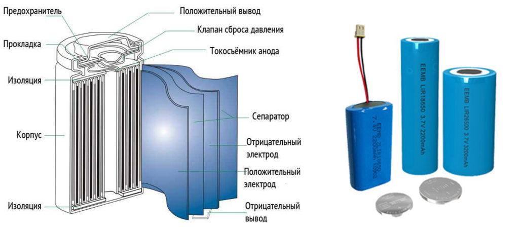 Правильное хранение Li-Ion (литий-ионного) аккумулятора
