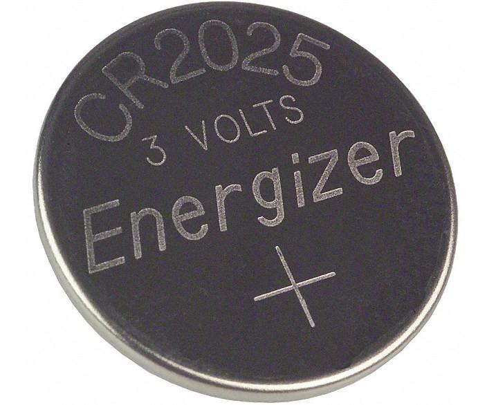 Батарейка с форм-фактором CR2025 - для работы с различными портативными приборами и техникой