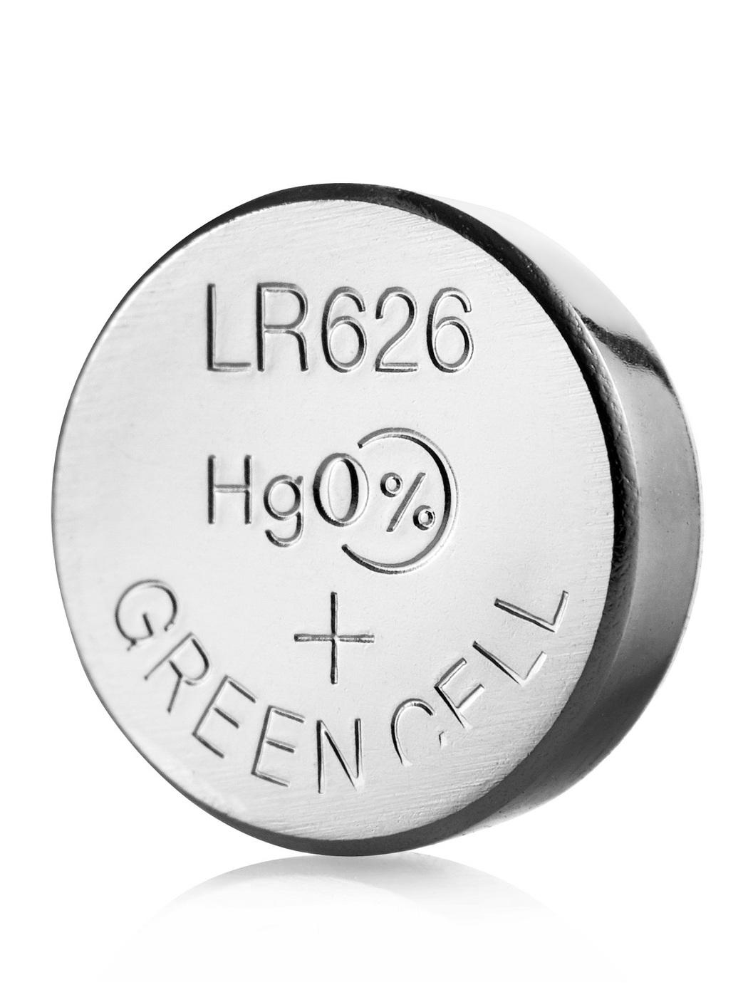 Модель батарейки LR626 как марганцево-щелочной элемент