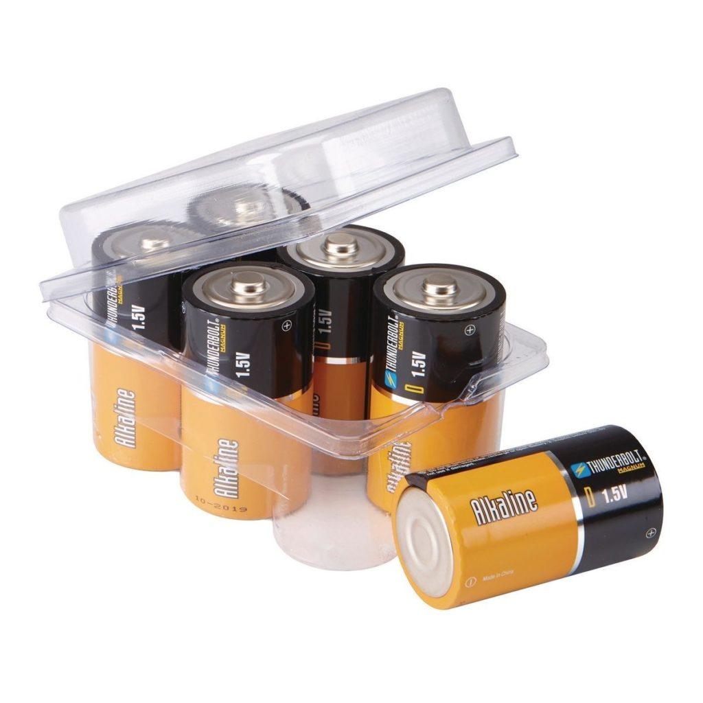 Батарейки и аккумуляторы как источник питания: D-тип