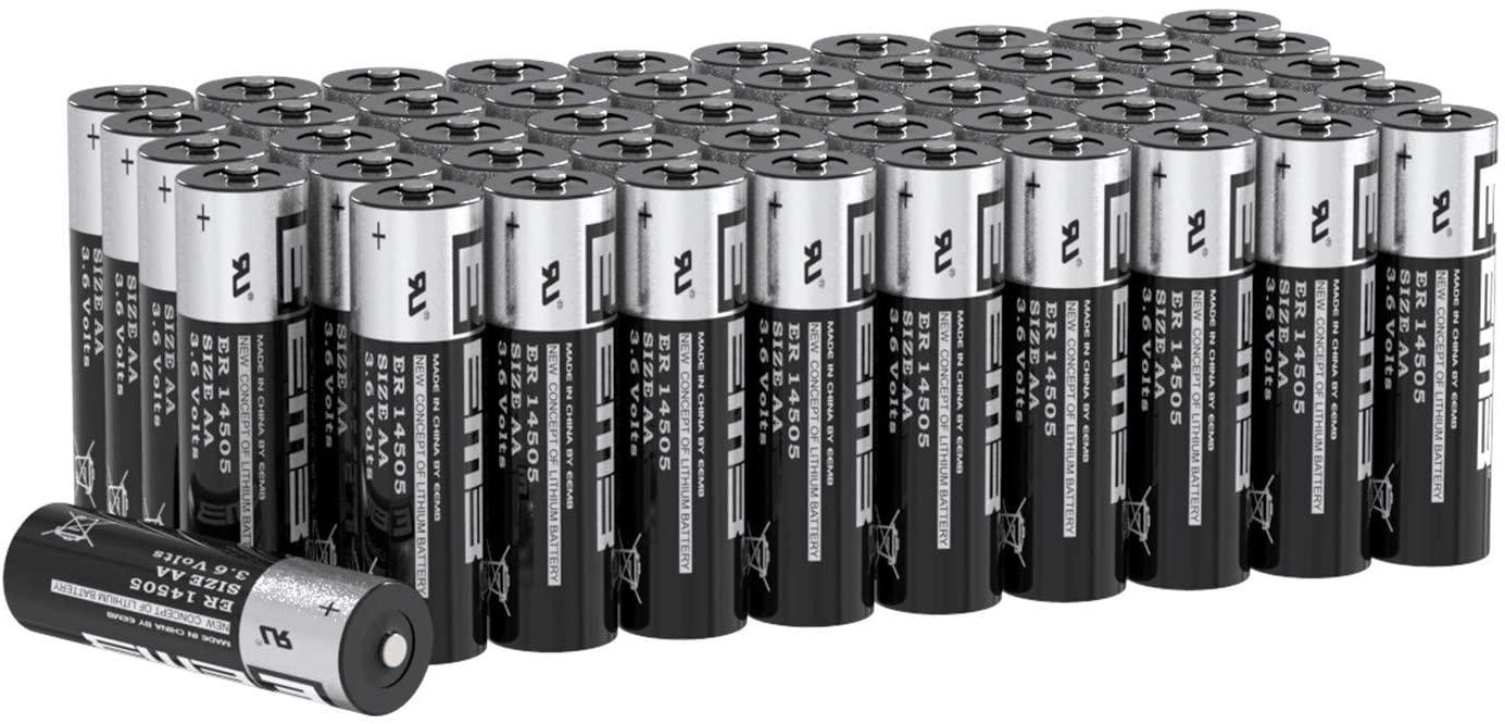 Батарейка с типоразмером ER14505 - литиевый источник питания с большой энергоемкостью и низкими показателями саморазряда