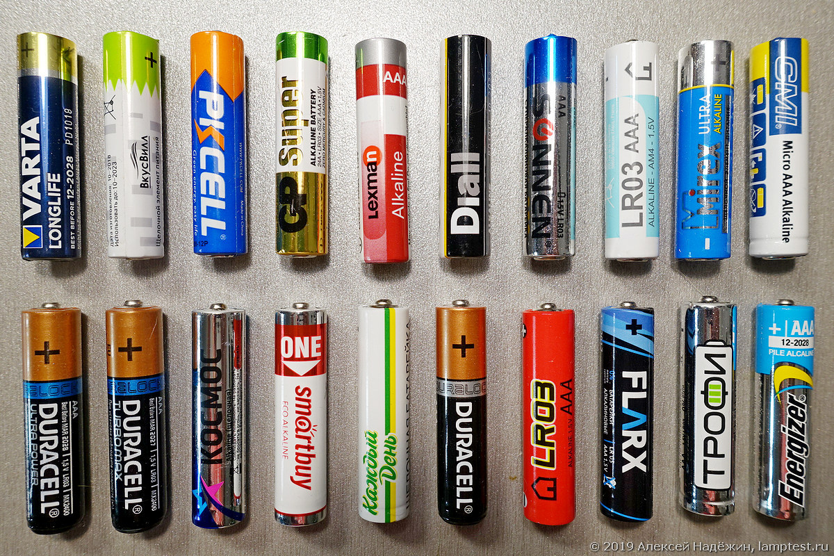 Батарейки типа ААА как популярный элемент питания, их отличия от традиционных пальчиковых
