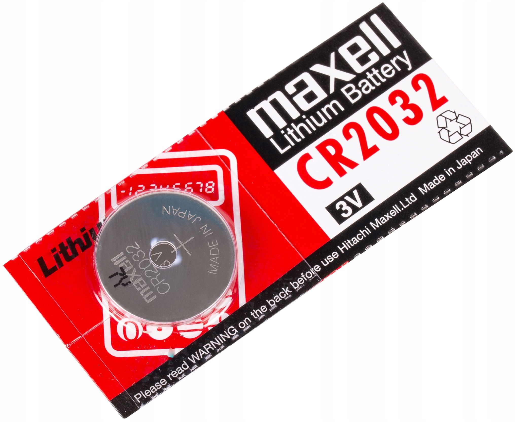 Важная информация о батарейке - модели CR2032