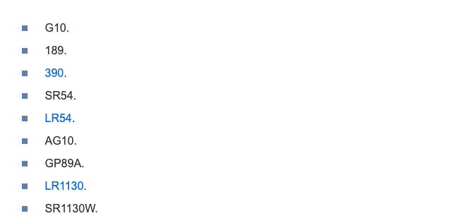 Батарейка в мире цифровых и диджитал технологий: типоразмер 389