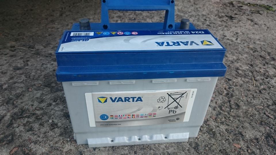Преимущества аккумулятора Blue Dynamic D24 именитого производителя Varta