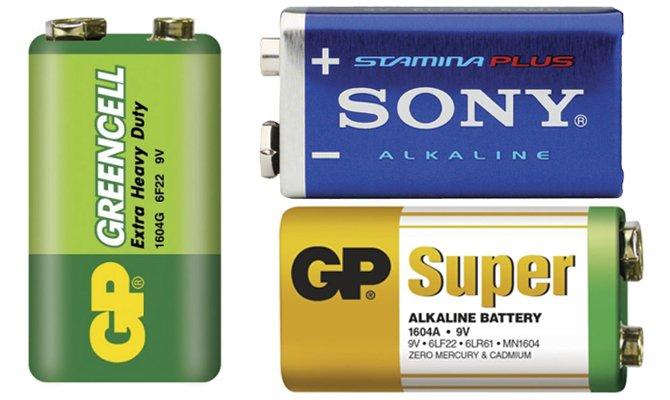 Батарейки с маркировкой 6LR61 как марганцево-цинковый гальванический элемент питания