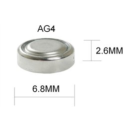 Параметры и особенности обслуживания батарейки AG4
