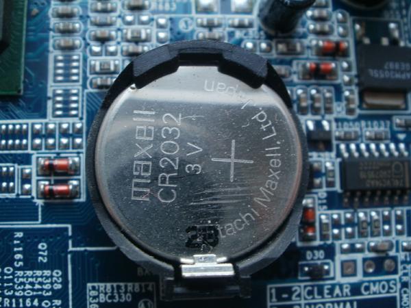 Батарейка для микрочипа в программу БИОС на персональный компьютер