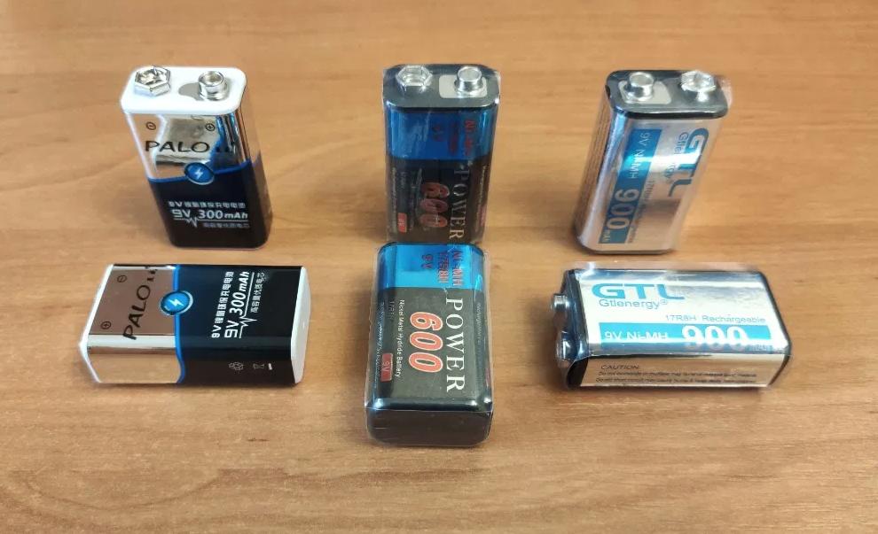 """Батарейки и аккумуляторы """"Крона"""" с напряжением 9 Вольт, их специфика"""