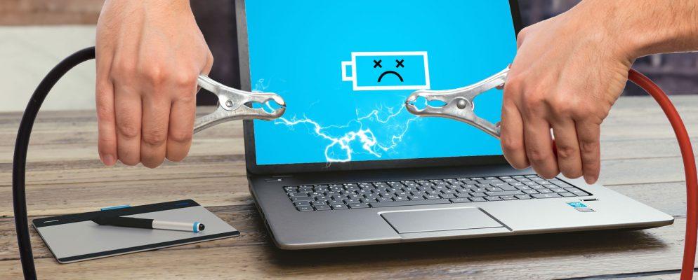 Батарея не обнаружена на ноутбуке: поиск проблемы и ее решение