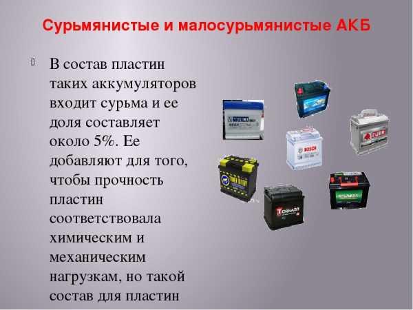 Советы по выбору аккумулятора
