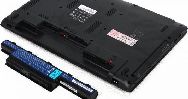 Батарея на ноутбуке