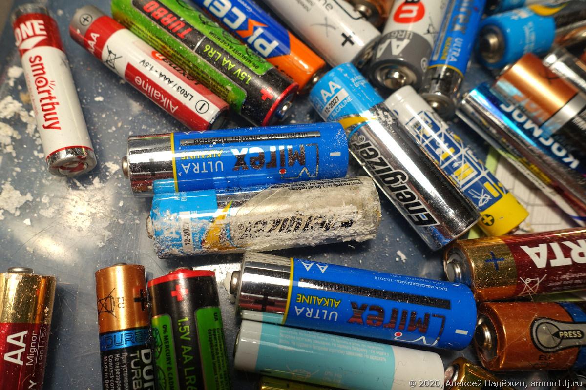 Почти все, что нужно знать об алкалиновых (щелочных) батарейках