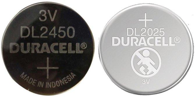 Виды и типоразмеры батареек американской компании DURACELL