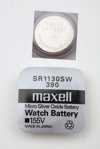 Батарейка щелочного типа SR1130SW и варианты ее использования