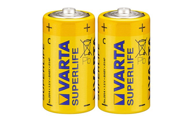Батарейка с типоразмером LR14 - для устройств с достаточно большим энергопотреблением