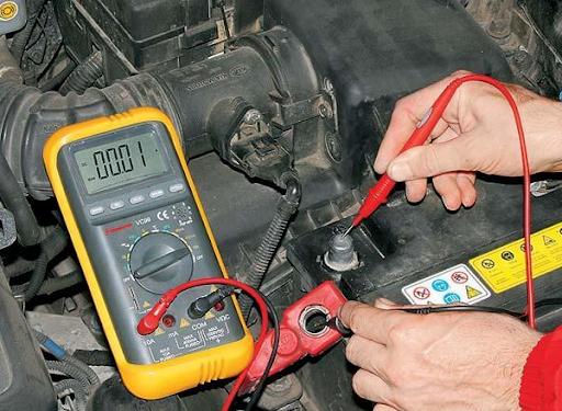 Применяем правильно мультиметр: тестирование аккумуляторной батареи